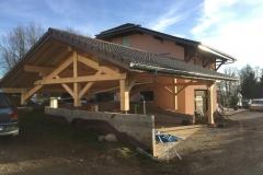 Construction de carport a La Roche sur Foron