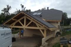Fabrication de carport a La Roche sur Foron