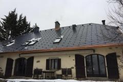Pose de fenetre de toit a Charvonnex